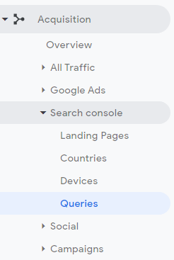 search console queries beginners guide